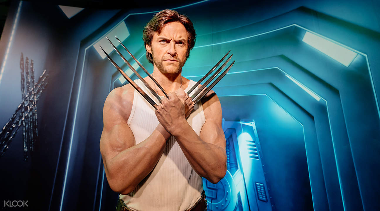 wolverine wax figure at madame tussauds bangkok